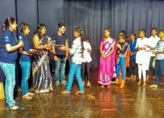 CHF Ashasadan acquired second plance in NGO skit competion