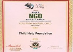 01_ Child Help Foundation Award of Excellence for Educating Girl Child
